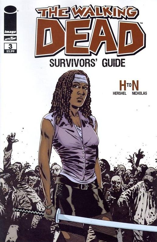 The Walking Dead Survivors guide # 4
