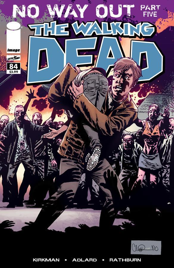 The Walking Dead # 84