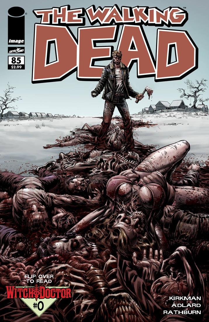 The Walking Dead # 85 ketner variant