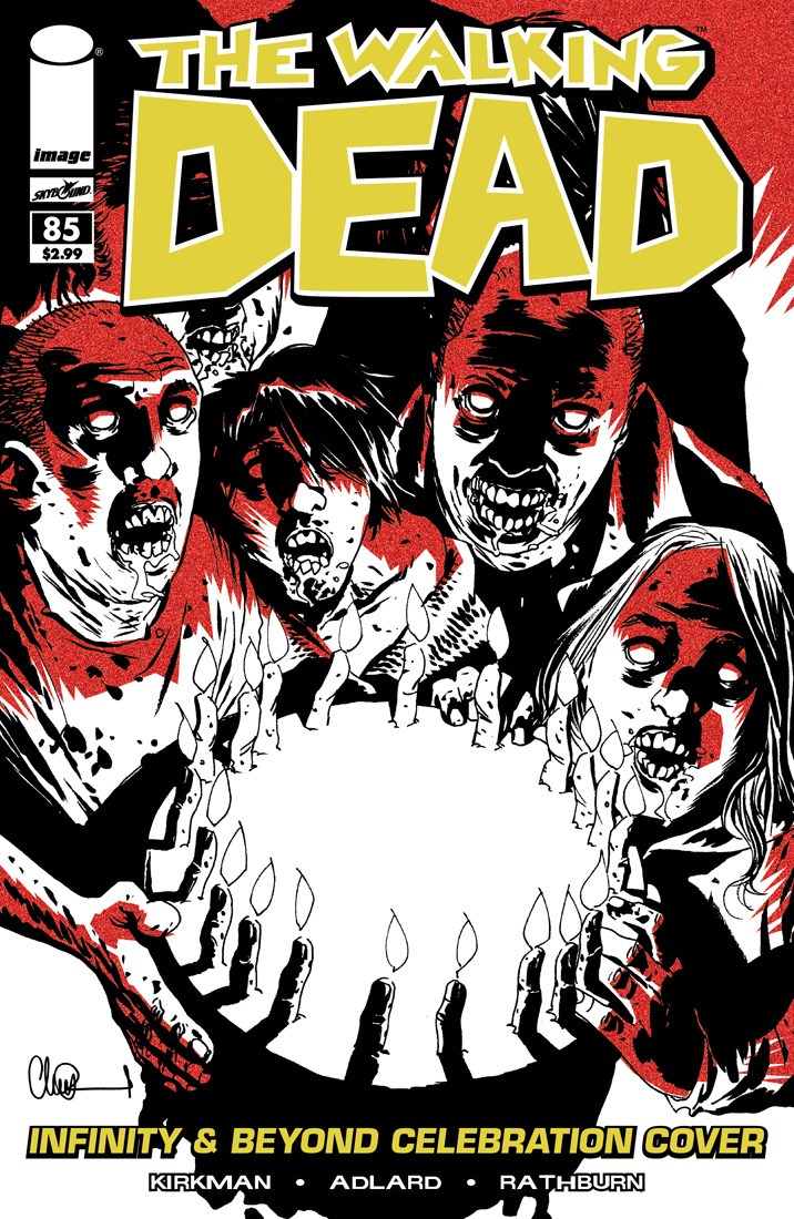 The Walking Dead # 85 infinity beyond variant