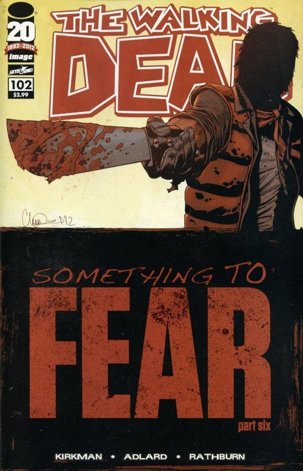 The Walking Dead # 102
